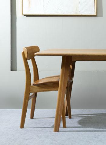 Stol – Les 2 Chaises – Bois brut
