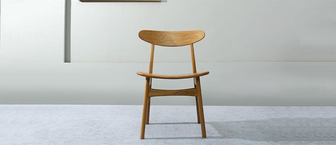 Stol Les 2 Chaises Bois Brut